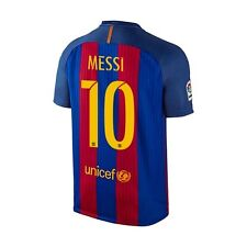 Nike FC Barcelona 2016 - 2017 Messi #10 Home Soccer Jersey Brand New