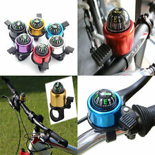 Outdoor Bike Metal Ring Handlebar Bell Sound For Road Bicycle With The Compass