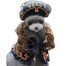 Costume Halloween Festival Puppy Dog Dress Up Pet Princess Prince Coat And Hat