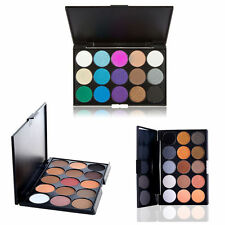 15 Colors Professional Matte Shimmer Eyeshadow Palette Makeup Cosmetic kit Hot