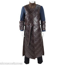 2016 New Game of Thrones Season 6 Jon Snow Stark Armor Cosplay Costume