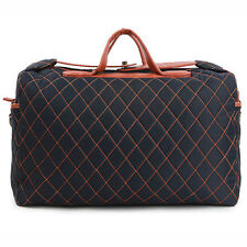 ChanChanBag Mens Quilted Duffle Bag Gym Bag for Women Travel Tote Bag 320