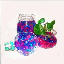 Top Magic Jelly Crystal Mud Soil Water Bead Pearl Balls Flower Plant Decoration