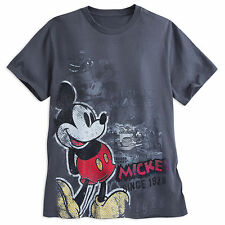 Disney Store Authentic Mickey Mouse Classic Pop Art Mens T Shirt Tee Size S M L