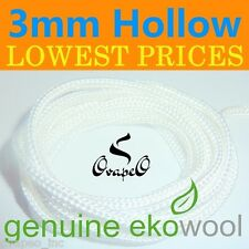 Wholesale LOT GENUINE EKOWOOL Hollow 3mm 100 Meters 328ft Authorized Distributor
