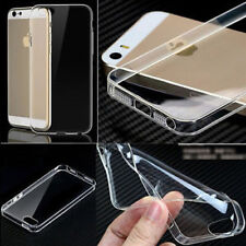 Ultra Thin Transparent Clear Soft Silcone Gel Plastic Fits IPhone Case Cover C55