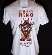 Bnwt Authentic Men's Old Glory T Shirt Johnny Reno New White