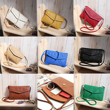 PU Leather Women Messenger Bag Small Diagonal All Match Single Shoulder Bag BE
