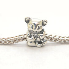 Authentic Genuine S925 Silver Koala Bead Charm