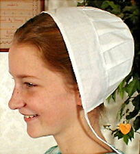Ladies Girls Amish Mennonite Covering Bonnet Kapp Pioneer Civil War - NEW