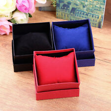 Present Gift Boxes Case For Bangle Jewelry Ring Earrings Wrist Watch Box BE