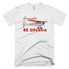 Luscombe 8E Silvaire Custom Airplane T-shirt - Personalized with Your N#