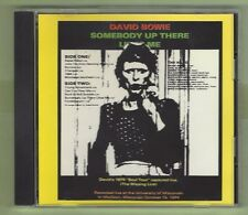 """David Bowie Somebody Up There Likes Me 'Live'  1974 """"Missing Link"""" - SILVER DISC"""