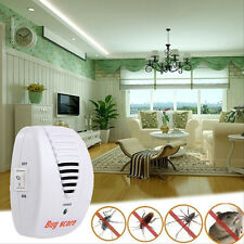 Electronic Ultrasonic Pest NEW Control Repeller Rat Mosquito Mouse Insect Rodent