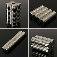 Super Strong Round Disc 50-200pc Magnets Rare-Earth Neodymium N35/N50 Multi-Size