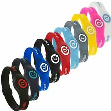 Bioflow AW16 Sport Magnetic Silicone Therapy Wristband **Many Colours**