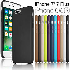 For Apple iPhone 7/ 7 Plus Ultra-thin PU Leather Soft Back Slim Case Cover Skin