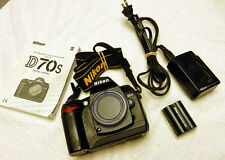 Nikon D70s Digital SLR Camera Body & Extras