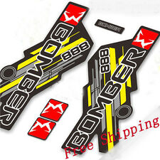 Marzocchi 888 Mountain Bicycle Front Fork Stickers for MTB bike Race Dirt Decals