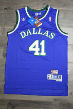 Dirk Nowitzki Dallas Mavericks Jersey Throwback Vintage Classic Retro Rookie New