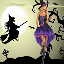 New Sexy Witch Cosplay Costume Women Ladies Adult Fancy Dress Halloween Costume