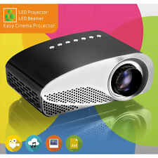 Portable Mini Projector Support HD 1080P LCD LED Projector For PC/DVD HDMI P84