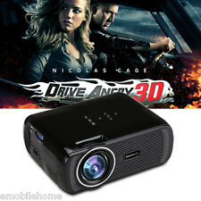 Excelvan mini portable LCD LED Projector 800x480 1000 lumens Home theater cinema