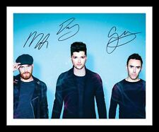 THE SCRIPT AUTOGRAPHED SIGNED & FRAMED PP POSTER PHOTO 1