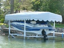 Hewitt Replacement Boat Lift Canopy Covers - Various Popular Sizes and Colors