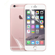 Front +Rear Full Body HD LCD Clear Screen Protector Film For iPhone 7 / Plus Lot