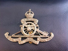 BRITISH ARMY CAP BADGE 1st HAMPSHIRE ROYAL GARRISON ARTILLERY VOLUNTEERS WW1