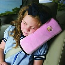 Child Kid Car Seat Belt Cushion, Shoulder Pillow, Head Support - UK Supplier