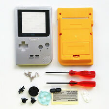 Limited Silver Yellow OEM Full Housing Shell for Nintendo Gameboy Pocket GBP