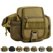 Outdoor Tactical Utility Waist Bum Bag Fanny Pack Camping Hiking Fishing Pouch