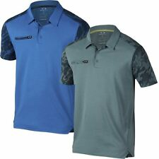 Oakley Golf 2016 O-Hydrolix™ Venom Short Sleeve Mens Golf Polo Shirt