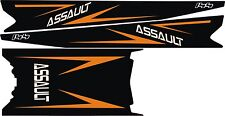 POLARIS RUSH PRO RMK  ASSAULT 120 144 155 163 STAR TOP assult side TUNNEL DECAL