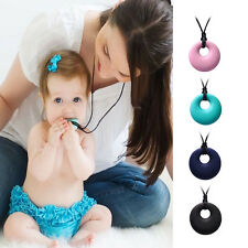 Smart Mom Jewelry Teething Bling Pendant Necklace Baby Teether 4 Colors On SALES