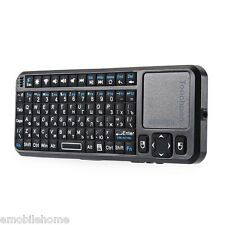 IPazzPort Mini Wireless 2.4GHz RF Remote Mouse  QWERTY Keyboard Touchpad TV/PC