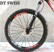 DT SWISS Mountain Bike Rim Cycling Wheel Stickers For MTB Bicycle Race DH Decals