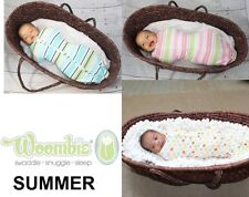 Customer Returned Woombie Summer Baby Swaddle ~ Choose Size & Color