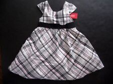 NWT GYMBOREE Tres Fabulous Size 4 Easter Holiday Dress Pink Gray Black $49