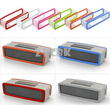 Travel Box Silicone Case Cover For BOSE SoundLink Mini I II Bluetooth Speaker