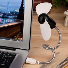 Flexible USB Mini Cooling Fan Cooler For Laptop Desktop PC Computer FO