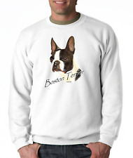 Long Sleeve T-shirt Adult Youth Nature Dog Breed Boston Terrier Pet Lover