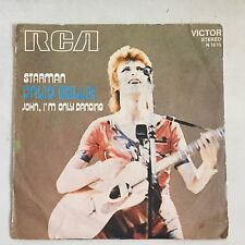 DAVID BOWIE Starman/John I'm only dancing Italy PS 45 7""