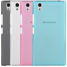 Clear Screen Protector + Soft Silicone Back Case Cover For Lenovo P70 P70-t