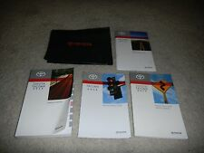 2014 TOYOTA TACOMA OWNERS MANUAL SET + FREE SHIPPING