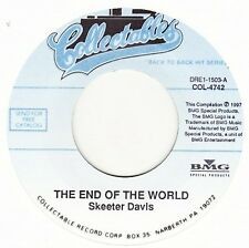 "Skeeter Davis - The End Of The World / I Can't Stay Mad At You - 7"" US Vinyl 45"