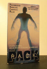 *Rare The P.A.C.K. (VHS 1997 Ted Prior Sci Fi)