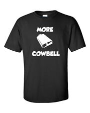 Christopher Walken SNL More Cowbell Skit Funny Cow Bell  Men's Tee Shirt 214